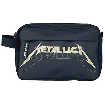 Metallica Wash Bag Band Logo new Official Black