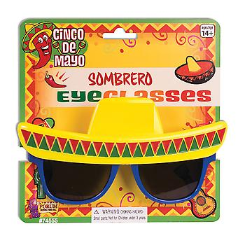 Bristol Novelty Unisex Adults Sombrero Sunglasses