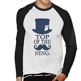 London Banter Top Of The Mo Ning Men's Baseball Long Sleeved T-Shirt