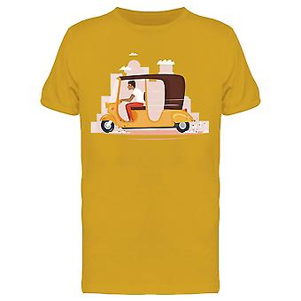 Taxi India Tee Men's -Image by Shutterstock
