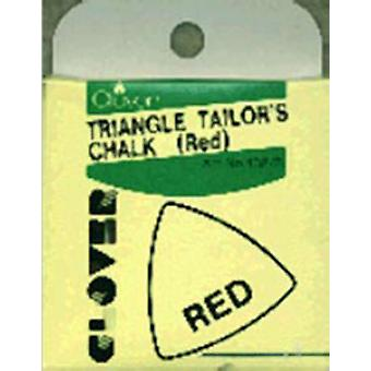 Triangle tailleurs craie rouge 432 R