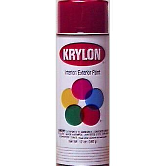 Indoor Outdoor Aerosol Paint 12 Ounces High Gloss Cherry Red 1000A 2101