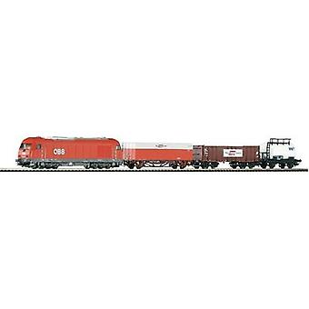 Piko H0 96948 H0 Start set goods train of Austrian Fed.Rly