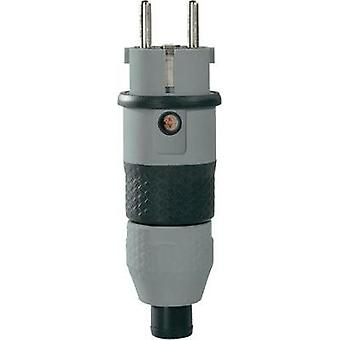 Safety plug PVC 230 V Grey, Black IP54 ABL Sursum 1529160