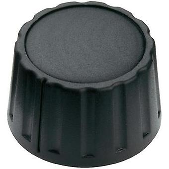 Black (Ø x H) 28 mm x 17 mm Mentor 4333.6000 1 pc(s)