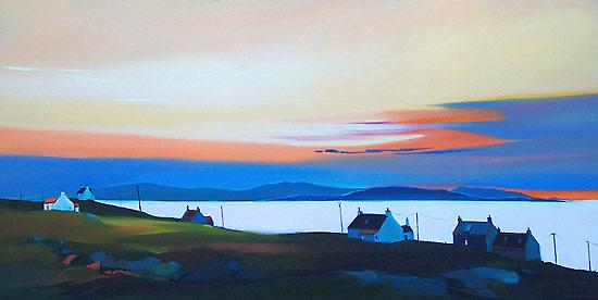 Pam Carter impression - Sun couleurs, Eriskay