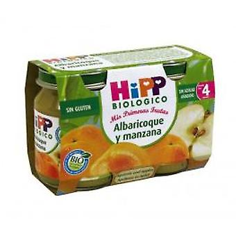 Hipp Jars Apricot-Apple (Childhood , Healthy diet , Pots)