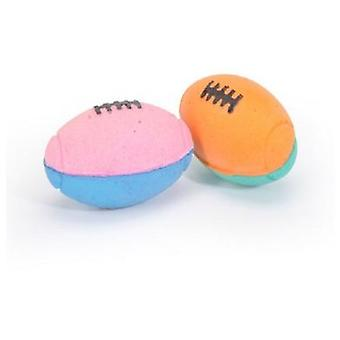 Camon Rugby Sponge ball 60 mm 2 Und. (Dogs , Toys & Sport , Balls)