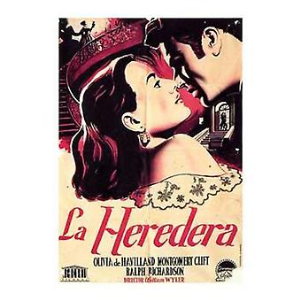 El heredera Movie Poster (11 x 17)