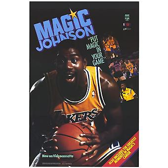 Impresión de póster de película Magic Johnson (27 x 40)
