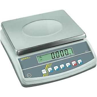 Table top scales Kern GAB 12K0.1N Weight range 12 kg Readability 0.1 g mains-powered, rechargeable Silver
