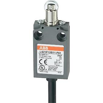 Limit switch 400 Vac 5 A Tappet momentary ABB LS21P12B11-P01 IP67 1 pc(s)