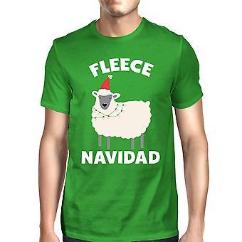Fleece Navidad Green Unisex Shirt Funny Christmas Gift Graphic Tee