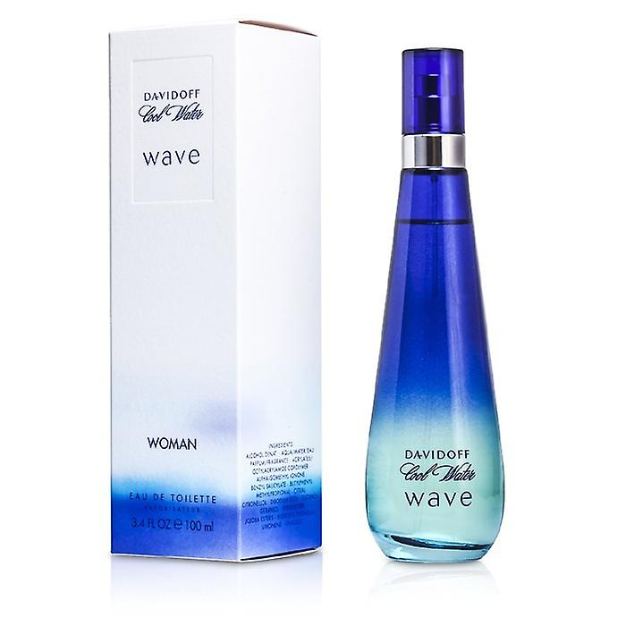 Davidoff Cool Water Wave Eau De Toilette Spray 100ml / 3.4 oz