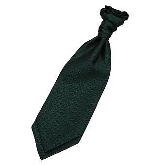Griekse belangrijke donker groene Scrunchie Cravat