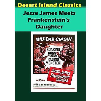 Importación de Estados Unidos hija [DVD] Jesse James cumple con Frankenstein