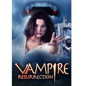 Importación de vampiro USA resurrección [DVD]