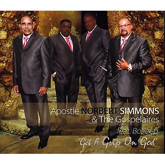 Norbert Simmons & the Gospelaires - Get a Grip on God [CD] USA import