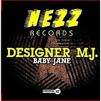 Designer M.J. - Baby Jane [CD] USA importerer