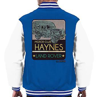 Haynes Motor Club Land Rover Männer Varsity Jacket