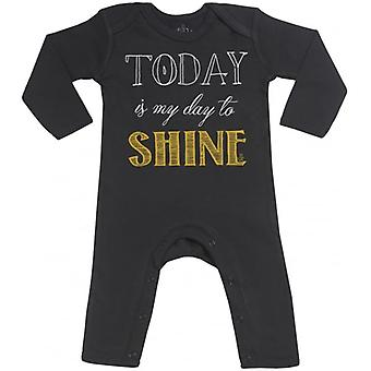 Spoilt Rotten Today My Day To Shine Baby Footless Romper