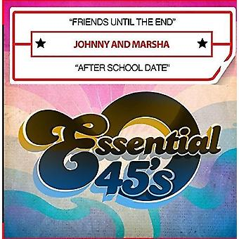 Johnny & Marsha - Friends Until the End / After School Date [CD] USA import