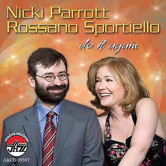 Nicki Parrott & Sportiello - gøre det igen [CD] USA import