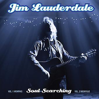 Jim Lauderdale - sjæl søgning: vol. 1. Memphis / Vol 2. Nashville [CD] USA importerer