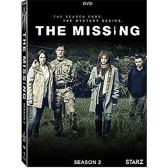 Missing: Season 2 [DVD] USA import