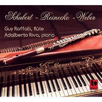 Schubert / Raffalli, fyr / Riva, Adalberto - Schubert - Reinecke - Weber [CD] USA import