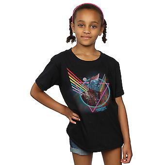 Marvel Girls Guardians of the Galaxy Neon Yondu T-Shirt