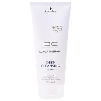 Schwarzkopf Professional Scalp Therapy Bc Bonacure Deep Cleansing Shampoo