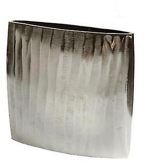 Bigbuy square vase nickel - Collection New York by Homania (Decoration , Jars)