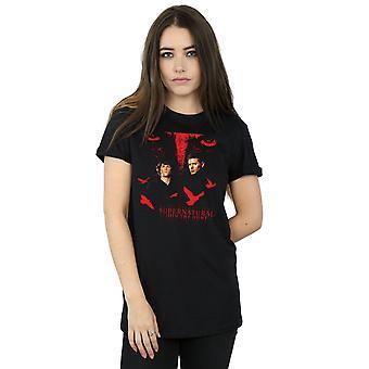 Supernatural Women's Crow Eyes Boyfriend Fit T-Shirt