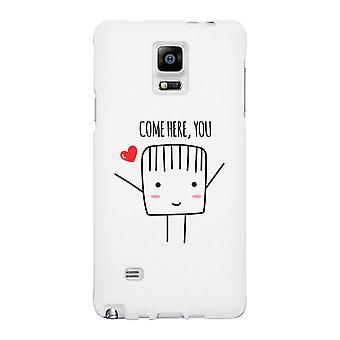 Come Here You-Left White Phone Case