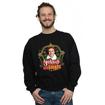 Elf Men's Buddy Smiling Sweatshirt