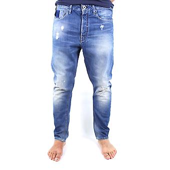 G-Star Type C 3D Loose Medium Aged Destroy Jeans Scatter Denim Tapered Leg Loose