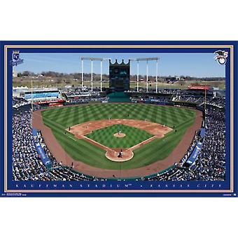 Kansas City Royals&trade - Kauffman Stadium 15 Poster Poster Print