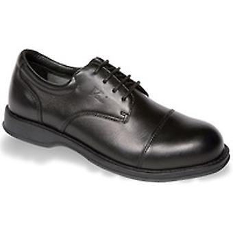 V12 VC101 Envoy Black Executive Oxford Shoe EN20345:2011-S1 Size 6