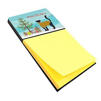 Titular de nota auto-adesiva de Natal Marten-de-garganta-amarela