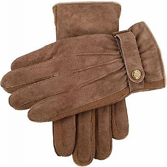 Dents Chester Outdoor Suede Gloves - Oatmeal