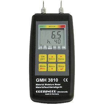 Moisture meter Greisinger GMH 3810 Measuring range building moisture 4 up to 1