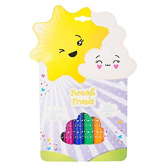 Forecast Friends Pack of 6 Colour Changing Pens Childrens Stationery