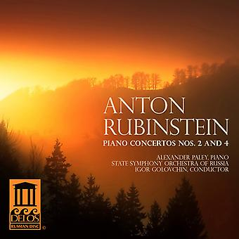 Anton Rubinstein - Rubinstein: Piano Concertos Nos. 2 & 4 [CD] USA import