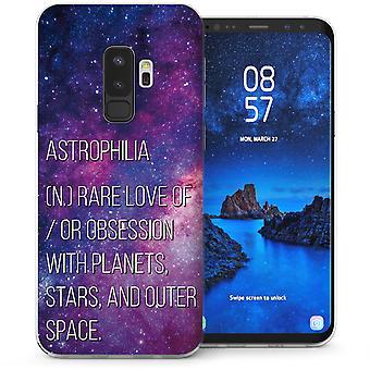 Samsung Galaxy S9 Plus Astrophilia TPU Gel Case - paars