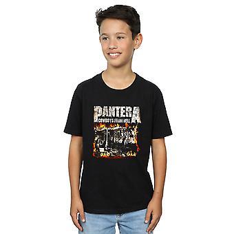 Pantera jongens Cowboy uit Hell T-Shirt