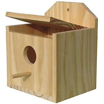 Ica Wooden Nest for Exotic (Birds , Bird Cage Accessories , Nests and Complements)