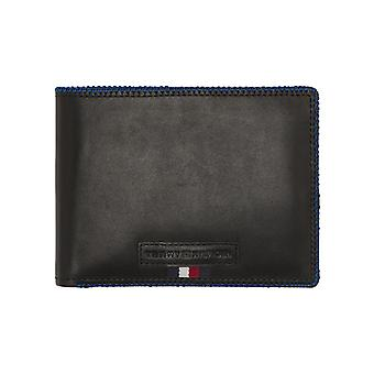 Tommy Hilfiger – Edge Stitch – extra CC and coin heren portemonnee – Black