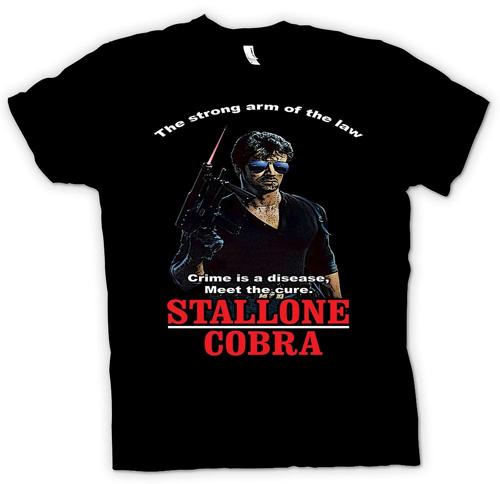 Kids T-shirt - Stallone - Cobra - Crime The Disease