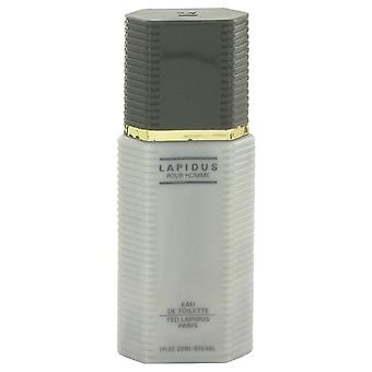 Lapidus Eau De Toilette Spray (unboxed, cap slightly discolored) By Ted Lapidus